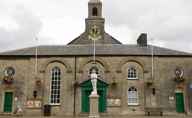 Town council building, Cowbridge